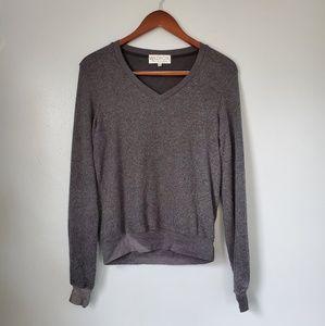 Wildfox grey long sleeve sweater